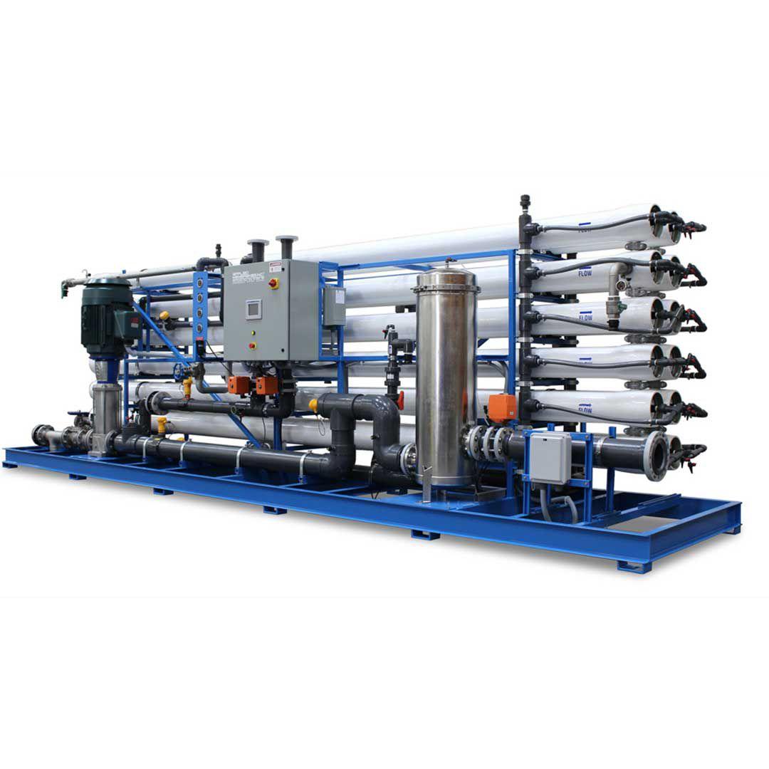دستگاه تصفیه آب صنعتی با ظرفیت 1000 متر مکعب