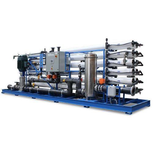 دستگاه تصفیه آب صنعتی با ظرفیت 1500 متر مکعب