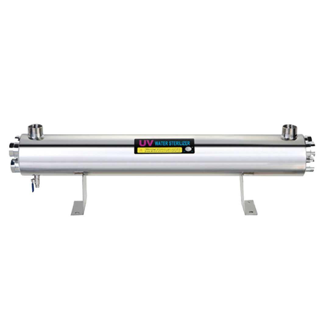 فیلتر تصفیه آب اشعه فرابنفش (UV) صنعتی 36 گالن