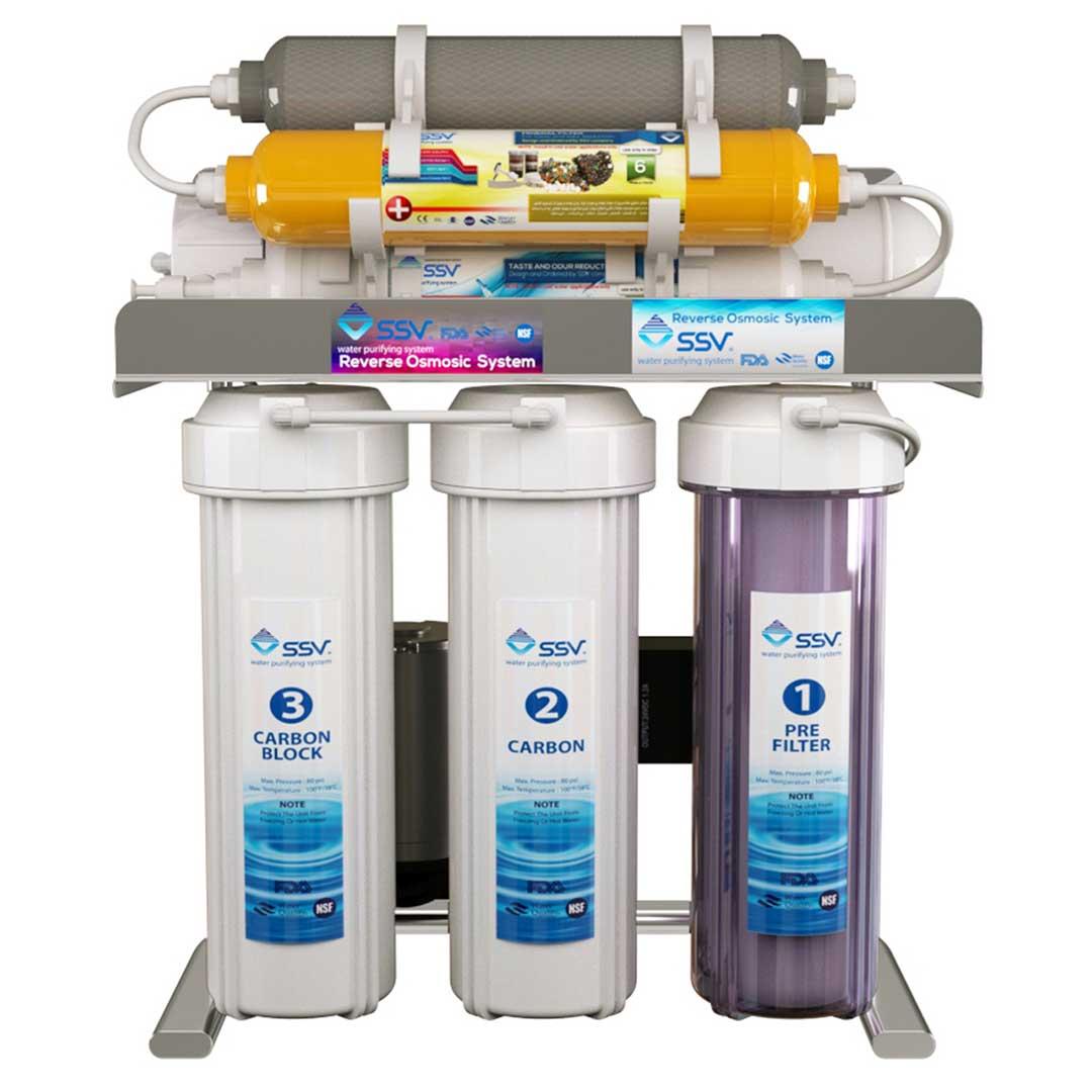 دستگاه تصفیه آب خانگی اس اس وی (SSV) مدل SuperClear X830