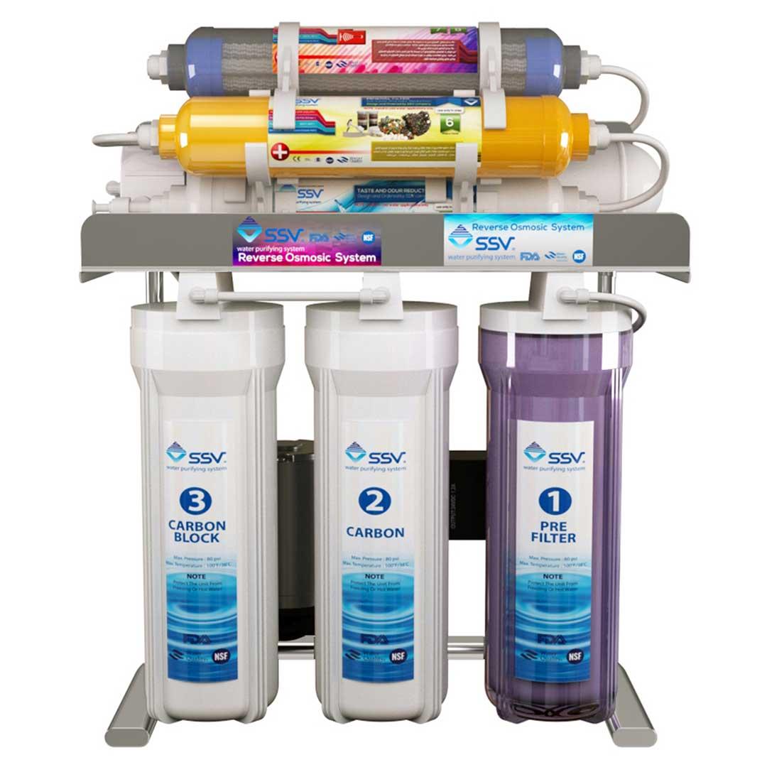 دستگاه تصفیه آب خانگی اس اس وی (SSV) مدل MaxClear X800