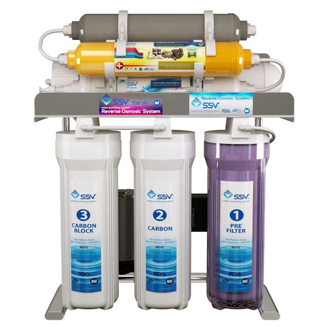 دستگاه تصفیه آب خانگی اس اس وی (SSV) مدل MaxClear X830