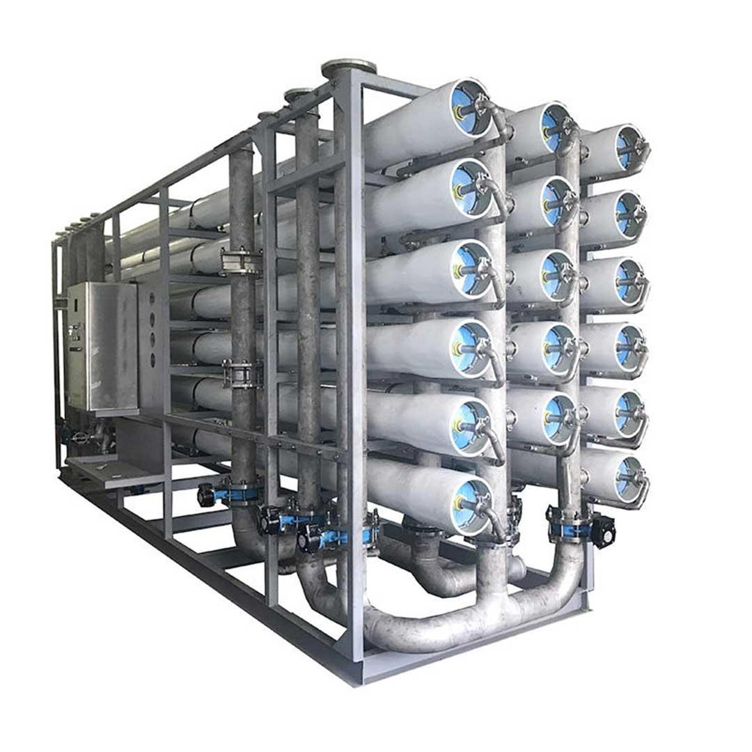 دستگاه تصفیه آب دریا| آب شیرین کن دریایی 1000 متر مکعب