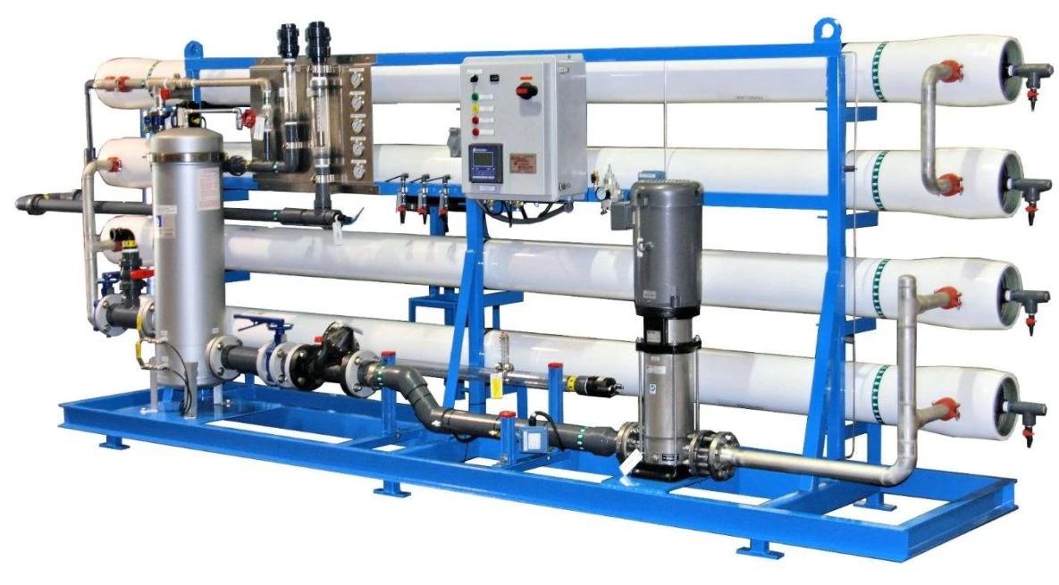 دستگاه تصفیه آب دریا| آب شیرین کن دریایی 100 متر مکعب