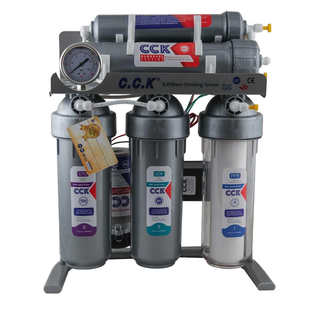 دستگاه تصفیه آب خانگی سی سی کا (C.C.K) مدل 2021 RO-SILVER