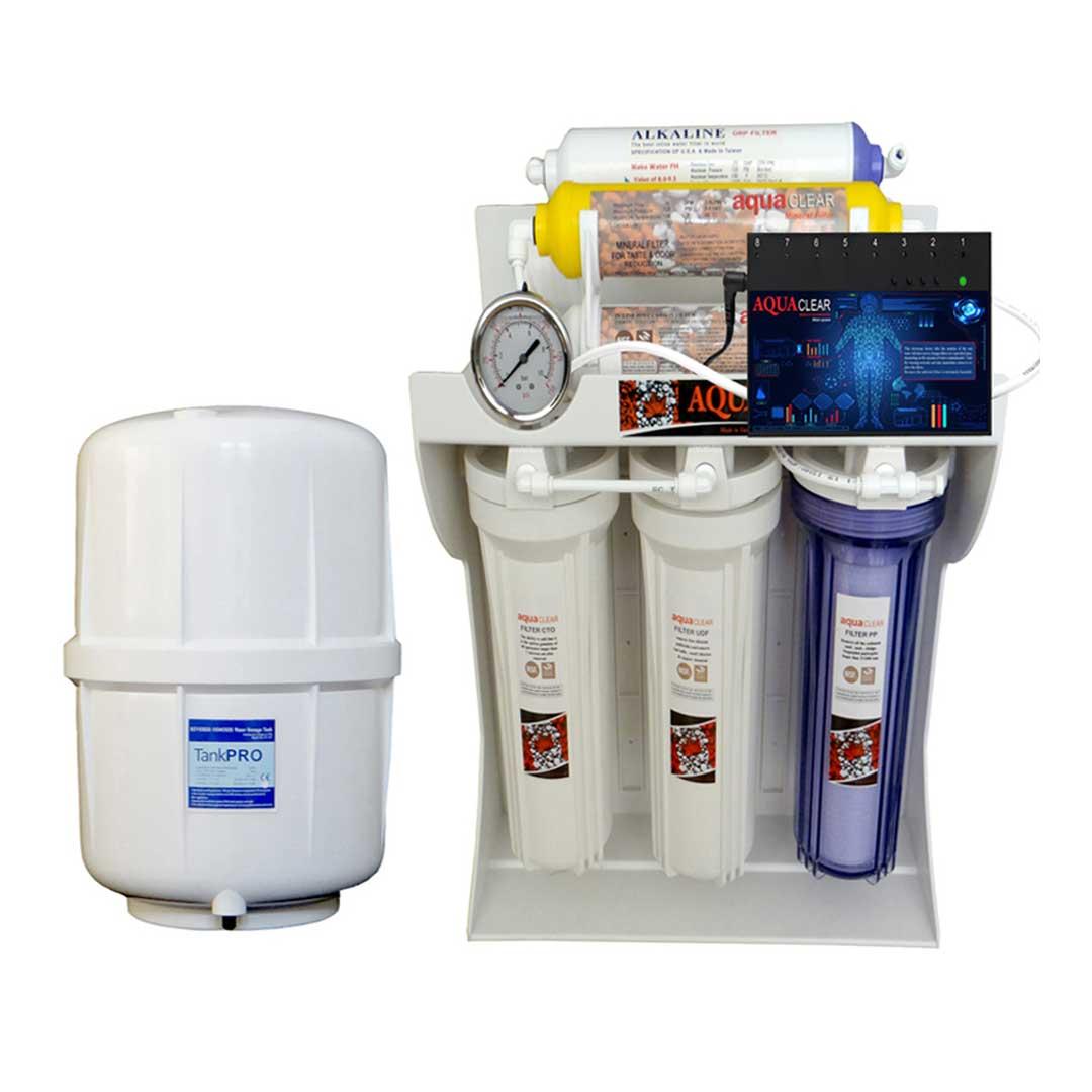 دستگاه تصفیه آب آکوآکلیر مدل RO-ARTIFICAL-INTIFICIAL- C1420