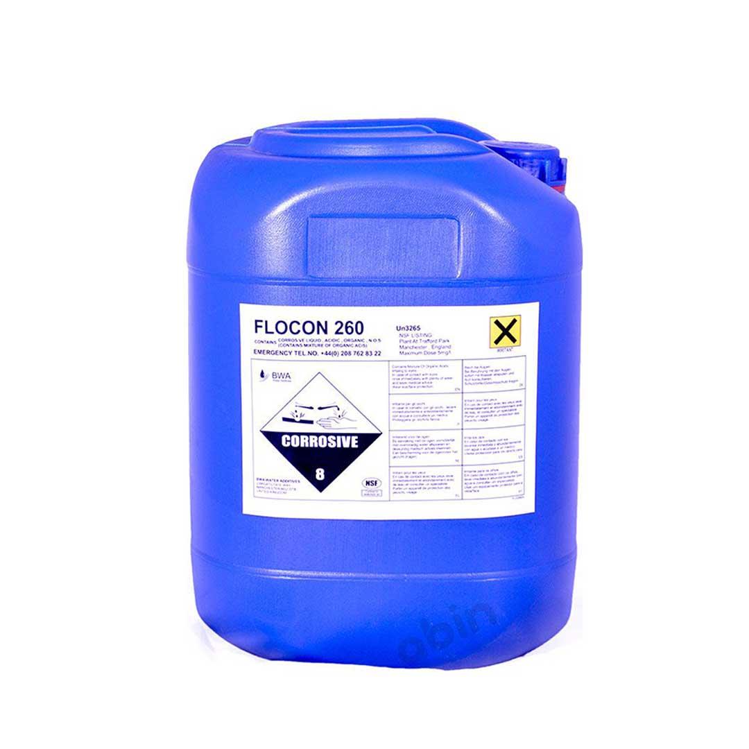 آنتی اسکالانت فلوکن 260- 25 کیلوگرمی (FLOCON)