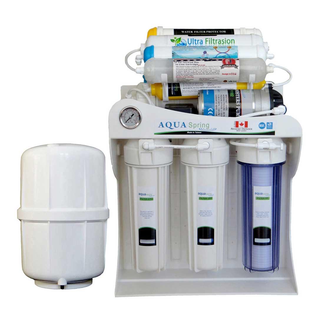 دستگاه تصفیه آب خانگی آکوآ اسپرینگ (Aqua Spring) مدل UF - SF4800