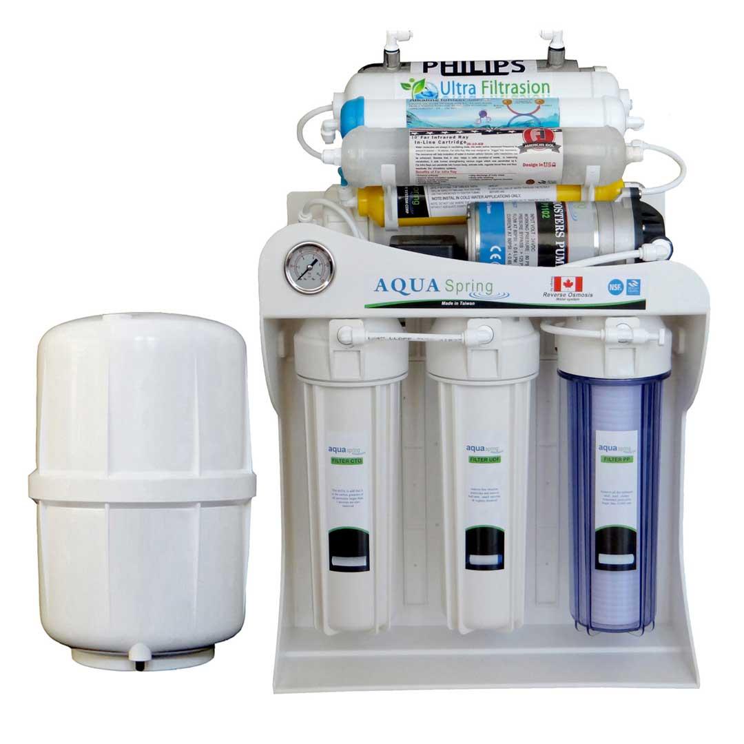 دستگاه تصفیه آب خانگی آکوآ اسپرینگ (Aqua Spring) مدل UF – SF5000