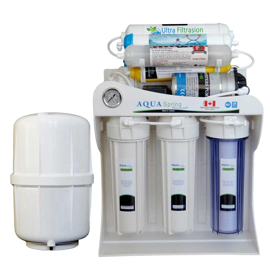 دستگاه تصفیه آب خانگی آکوآ اسپرینگ (Aqua Spring) مدل UF – SF3600