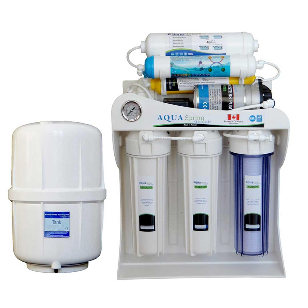 دستگاه تصفیه آب خانگی آکوآ اسپرینگ (Aqua Spring) مدل AQ-SF2500