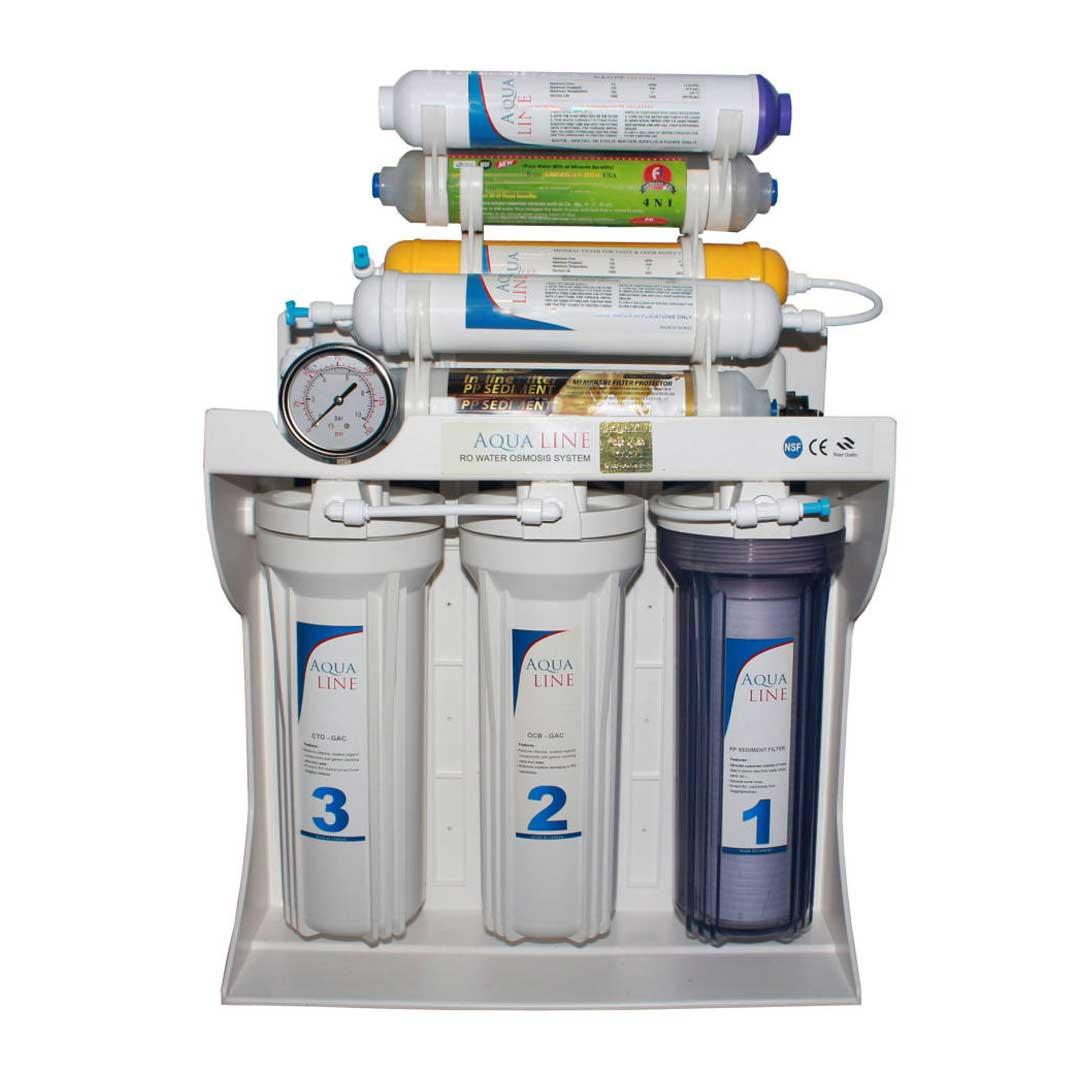دستگاه تصفیه آب خانگی آکوا لاین (Aqua Line) مدل RO-LINE 900 FIBER