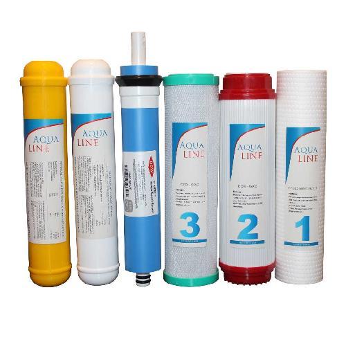 ست 6 عددی فیلترهای دستگاه تصفیه آب خانگی مدل 6S