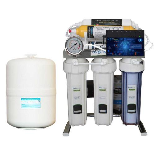 دستگاه تصفیه آب خانگی آکوآ اسپرینگ (Aqua Spring) مدل CHROME-BA7