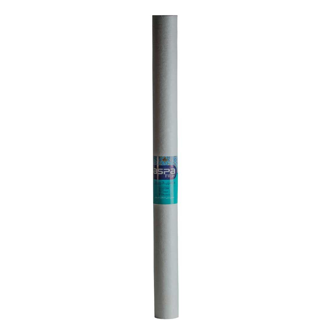 فیلتر الیافی 30 اینچ اسلیم آسپا (Aspa) 25 میکرون