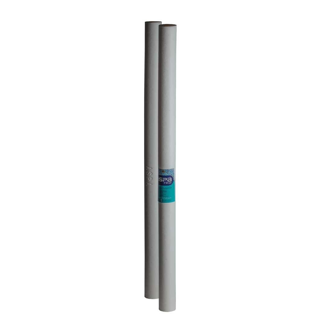 فیلتر الیافی 40 اینچ اسلیم آسپا (Aspa) 1 میکرون
