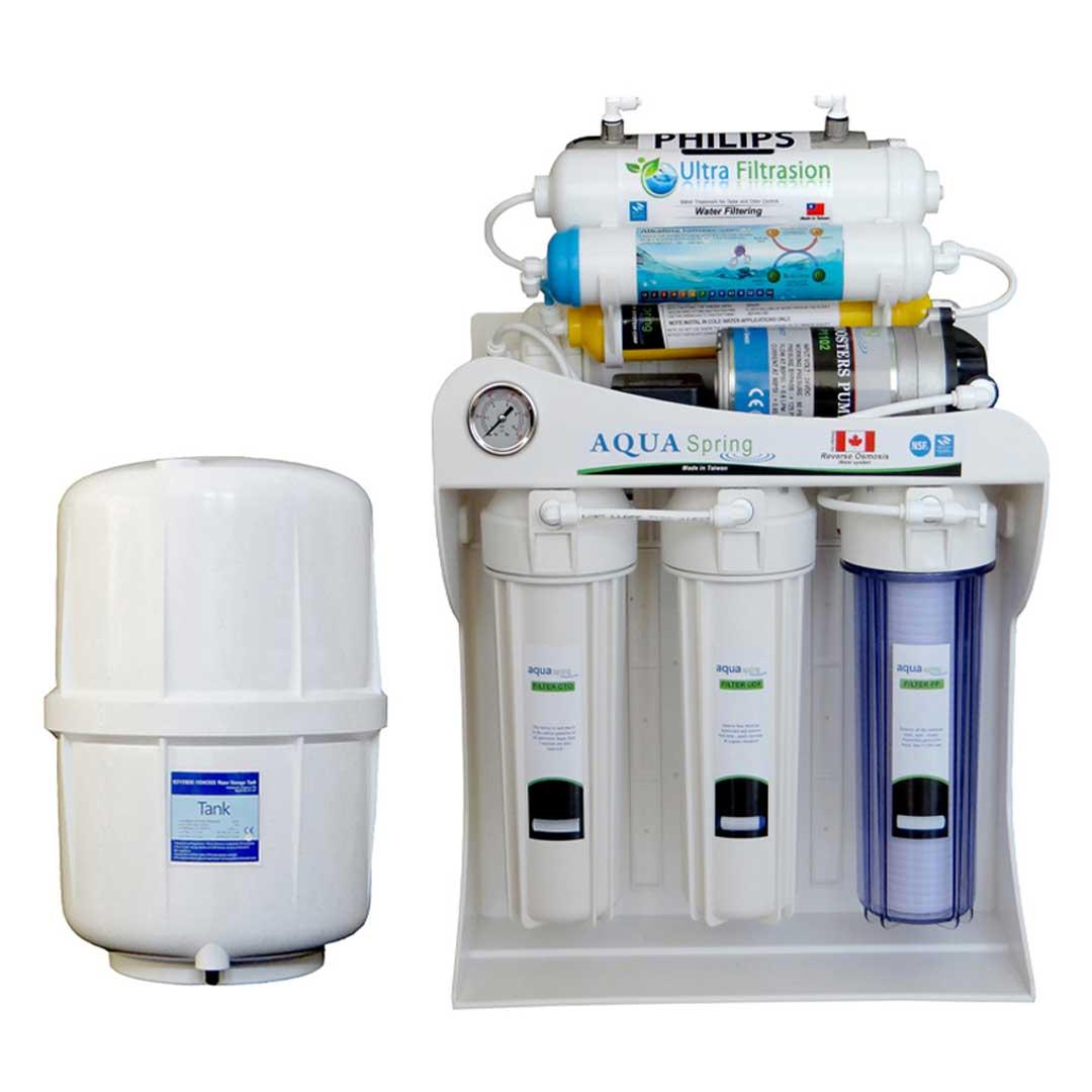 دستگاه تصفیه آب خانگی آکوآ اسپرینگ (Aqua Spring) مدل UF-SF3900