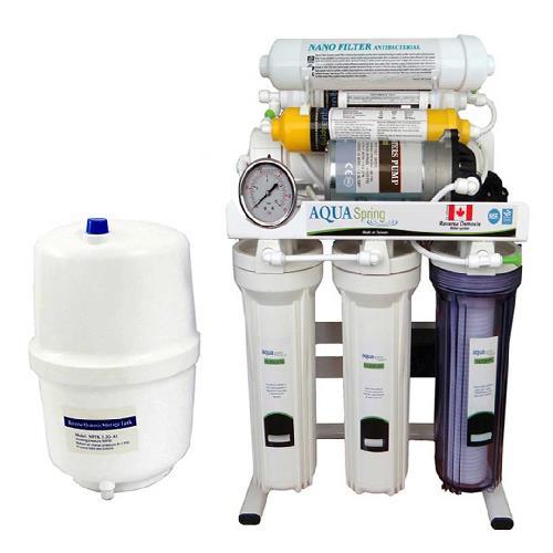 دستگاه تصفیه آب خانگی آکوآ اسپرینگ (Aqua Spring) مدل RO-SN2050