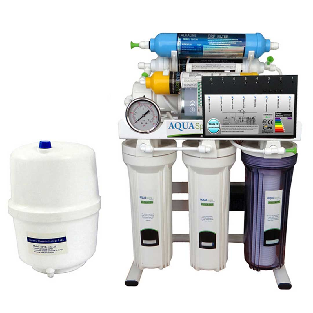 دستگاه تصفیه آب خانگی آکوا اسپرینگ (Aqua Spring) مدل RO-BRAIN-S151