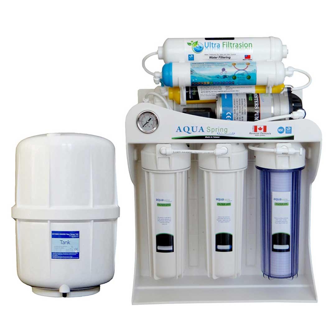 دستگاه تصفیه آب خانگی آکوآ اسپرینگ (Aqua Spring) مدلUF-SF3500