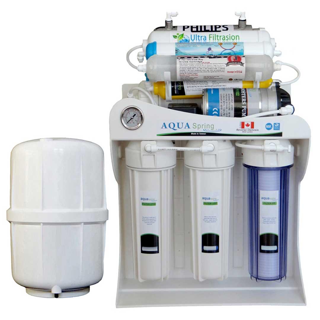 دستگاه تصفیه آب خانگی آکوا اسپرینگ (Aqua Spring) مدل UF-SF5000