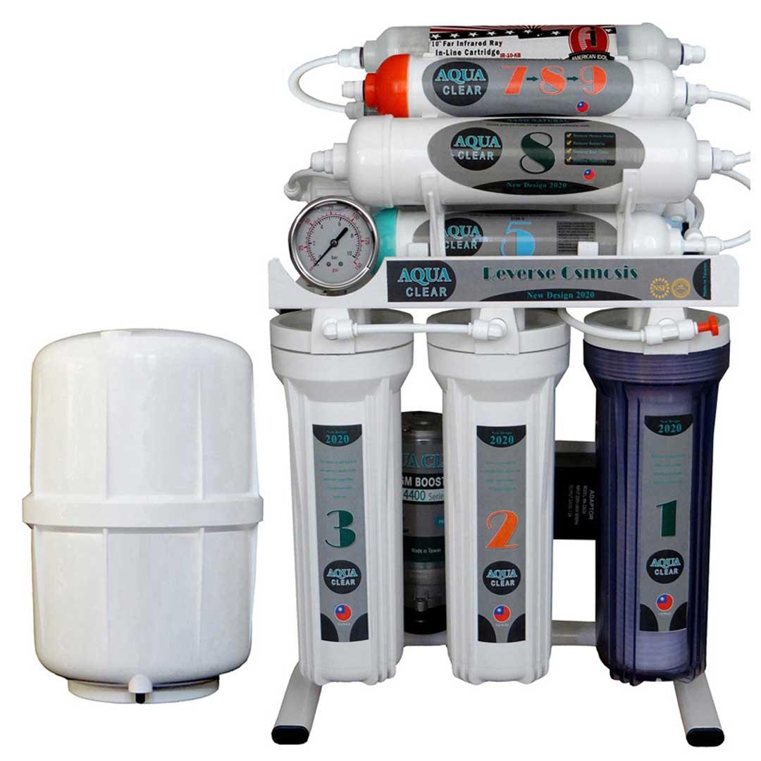 دستگاه تصفیه آب خانگیآکوآ کلیر مدل NEWDESIGN 2020 – AUN10