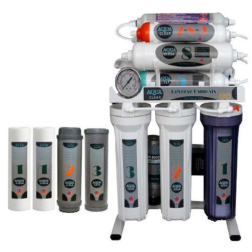 دستگاه تصفیه آب خانگی آکوآ کلیر مدل NEWDESIGN 2020 - ALN10 به همراه فیلتر 4 عددی