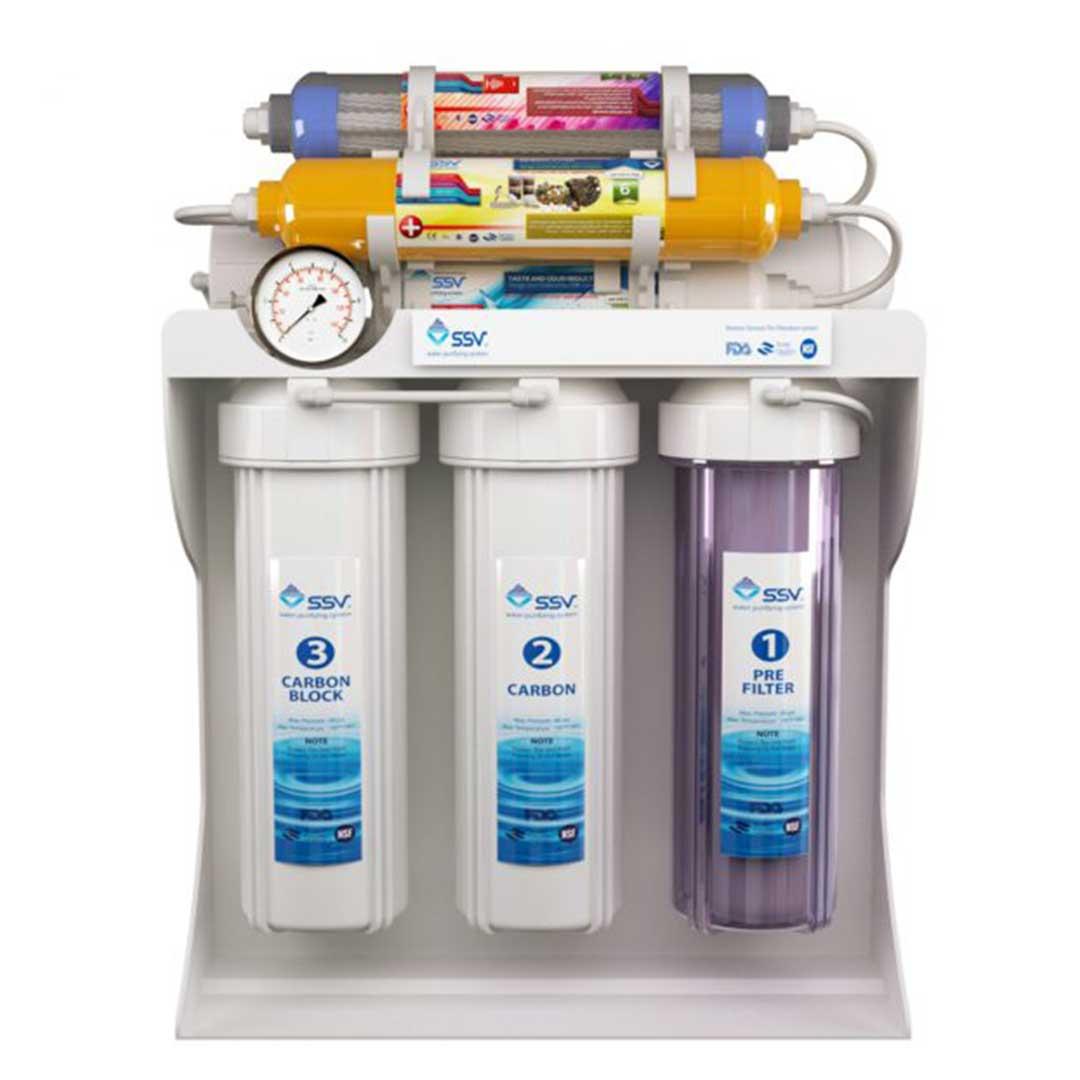دستگاه تصفیه آب خانگی اس اس وی (SSV) مدل SuperPro X800
