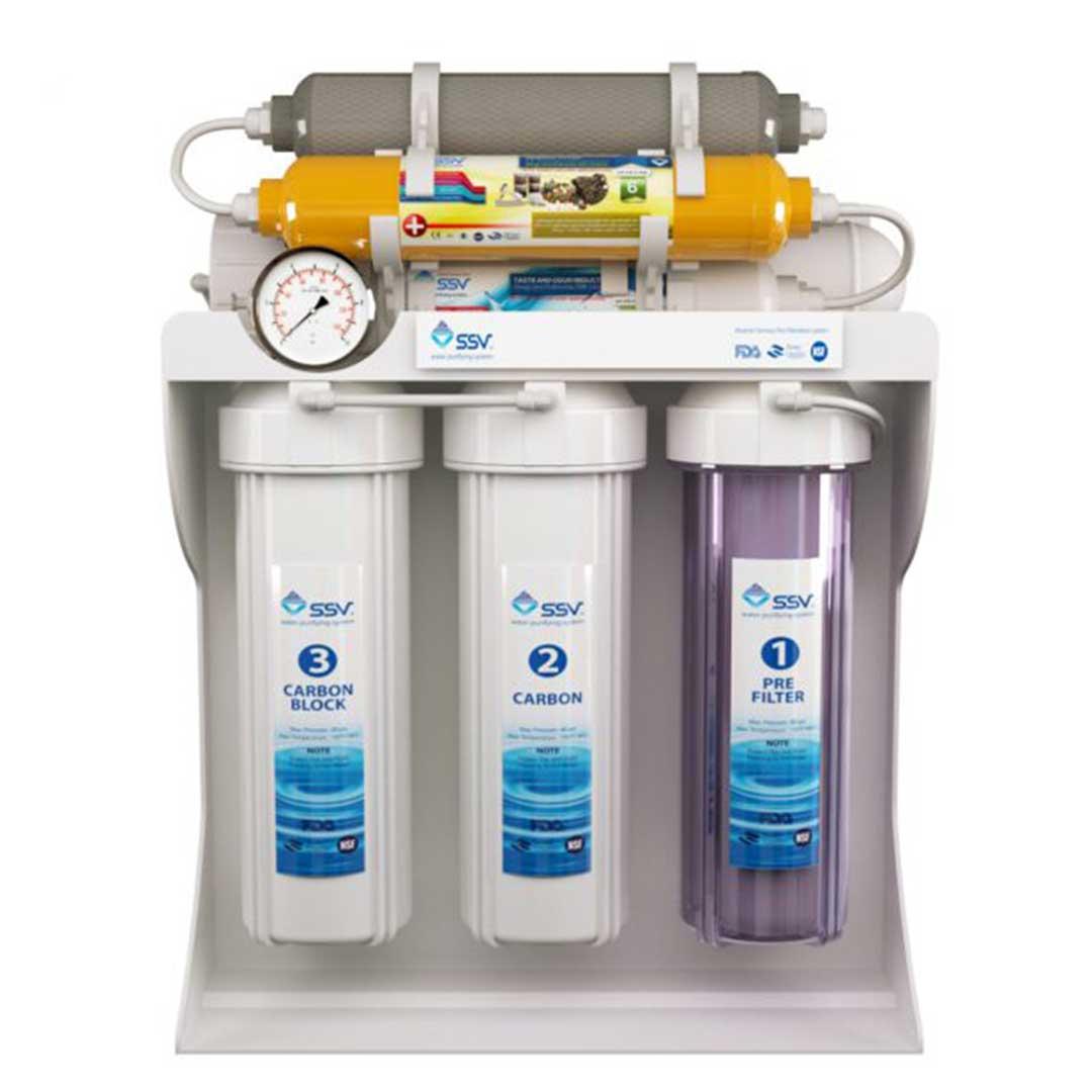 دستگاه تصفیه آب خانگی اس اس وی (SSV) مدل SuperPro X830