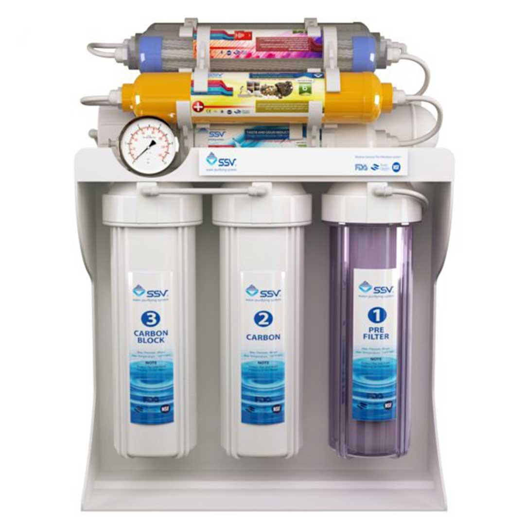 دستگاه تصفیه آب خانگی اس اس وی (SSV) مدل SuperPro X1000
