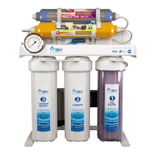 دستگاه تصفیه آب خانگی اس اس وی (SSV) مدل SuperTec X800