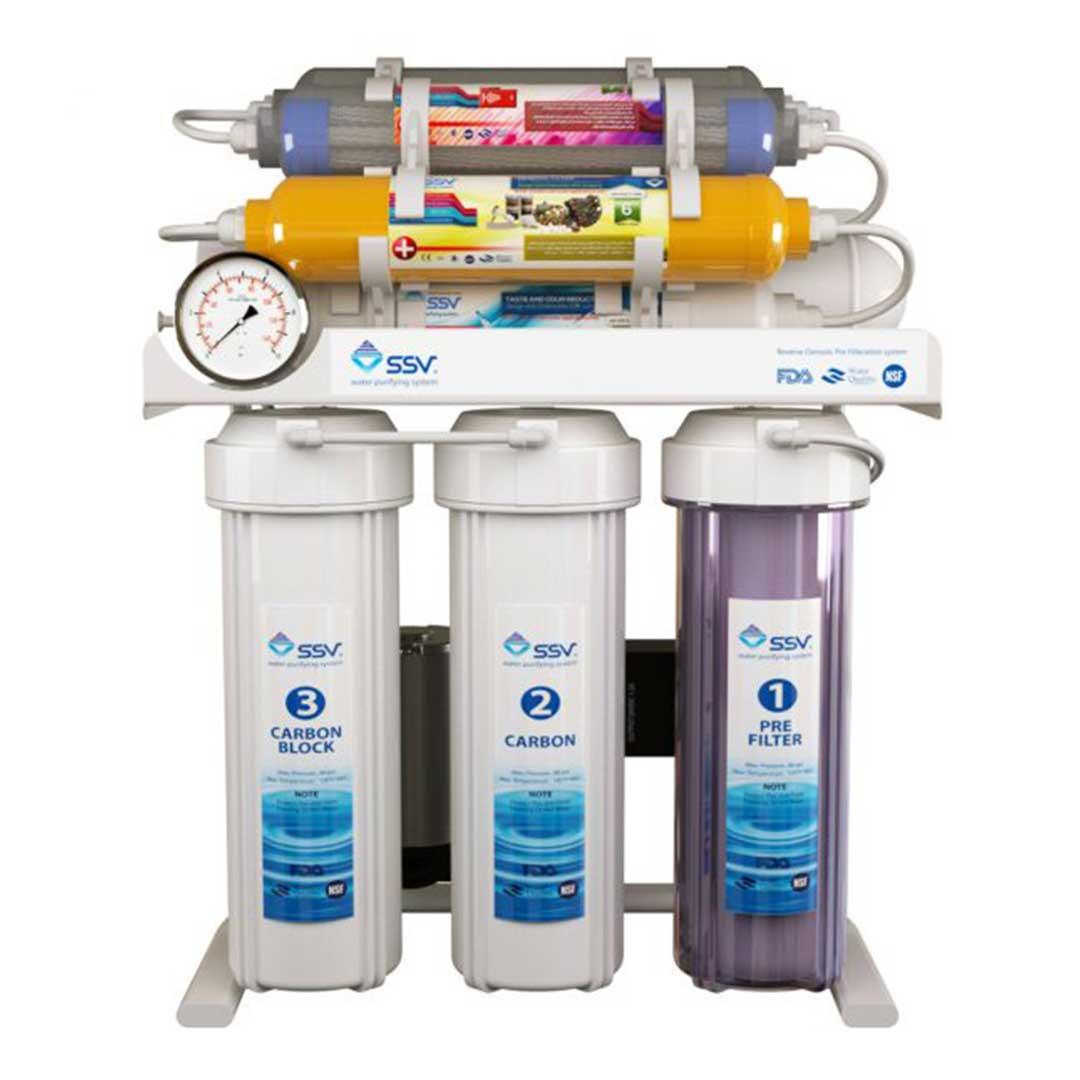 دستگاه تصفیه آب خانگی اس اس وی (SSV) مدل SuperTec X1000