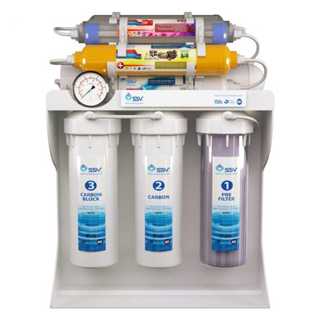 دستگاه تصفیه آب خانگی اس اس وی (SSV) مدل UltraPro X1000