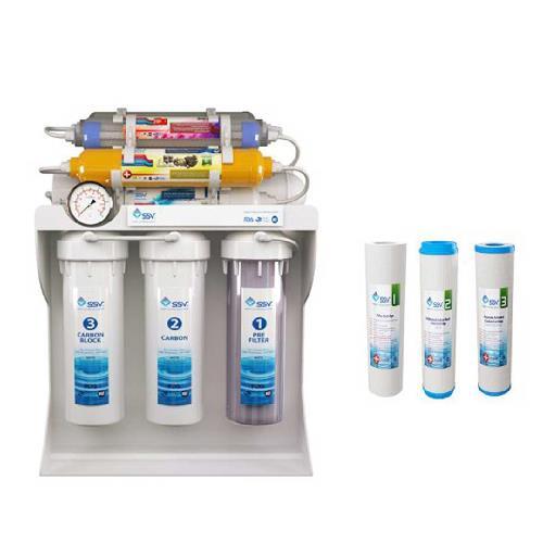 دستگاه تصفیه آب خانگی SSV مدل UltraPro X1000 به همراه فیلتر بسته سه عددی