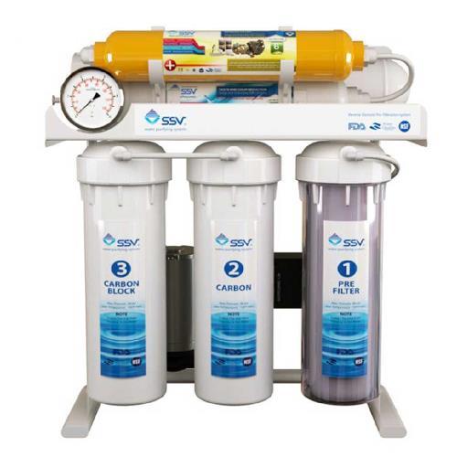 دستگاه تصفیه آب خانگی اس اس وی (SSV) مدل UltraTec X600