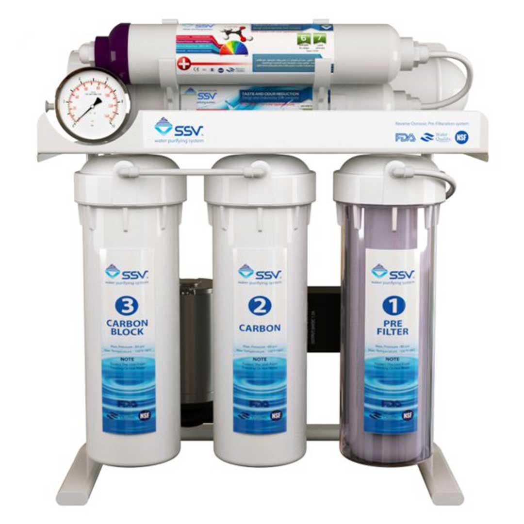 دستگاه تصفیه آب خانگی اس اس وی (SSV) مدل UltraTec X630