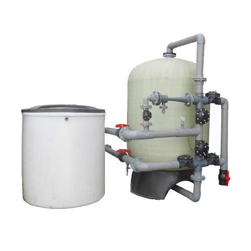دستگاه سختی گیر FRP رخشاب با ظرفیت 2000 کیلو گرین