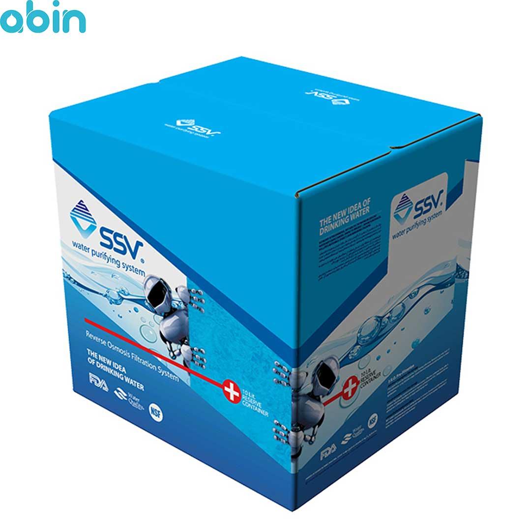 دستگاه تصفیه آب خانگی اس اس وی (SSV) مدل MaxTec X700 به همراه فیلتر بسته 3 عددی