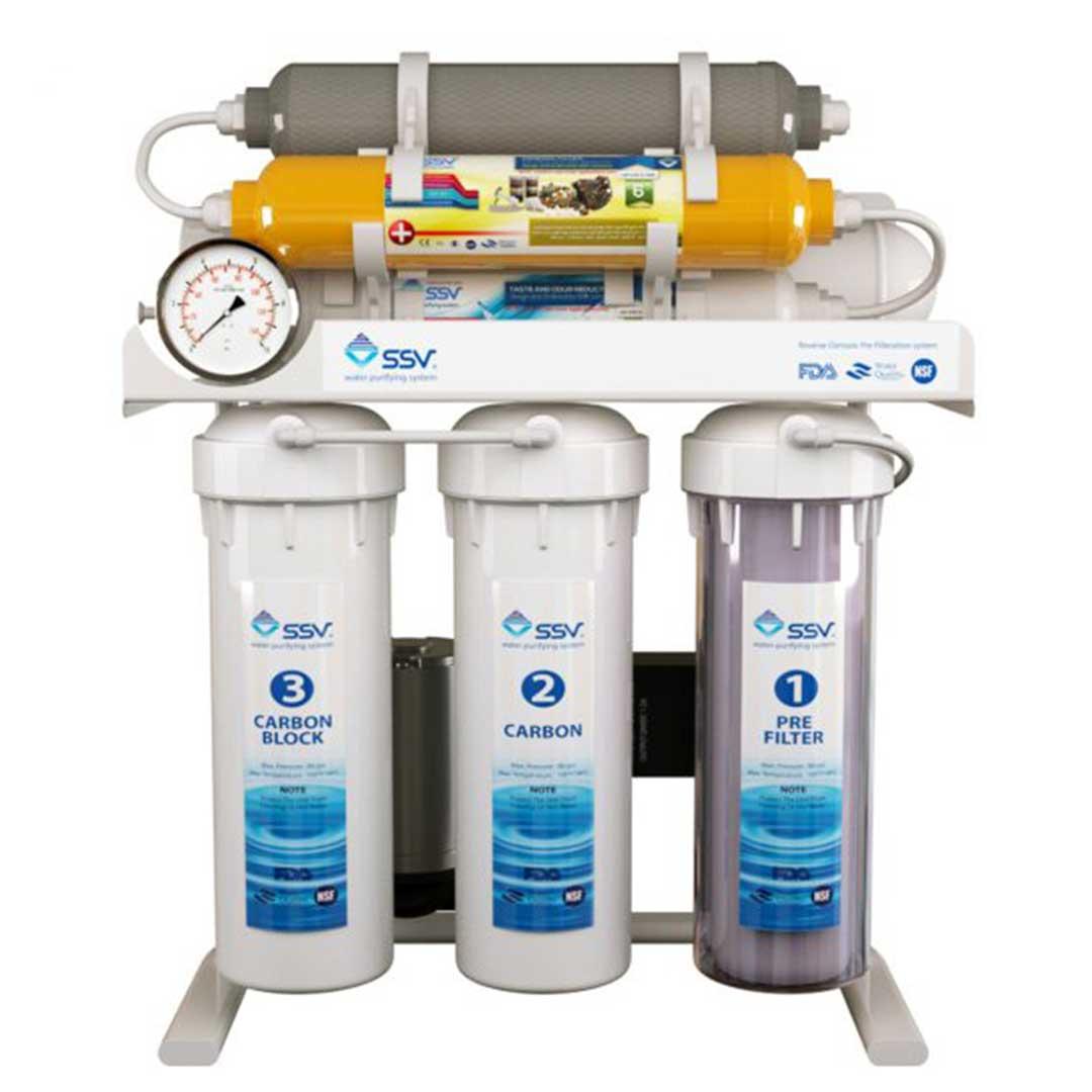 دستگاه تصفیه آب خانگی اس اس وی (SSV) مدل UltraTec X830