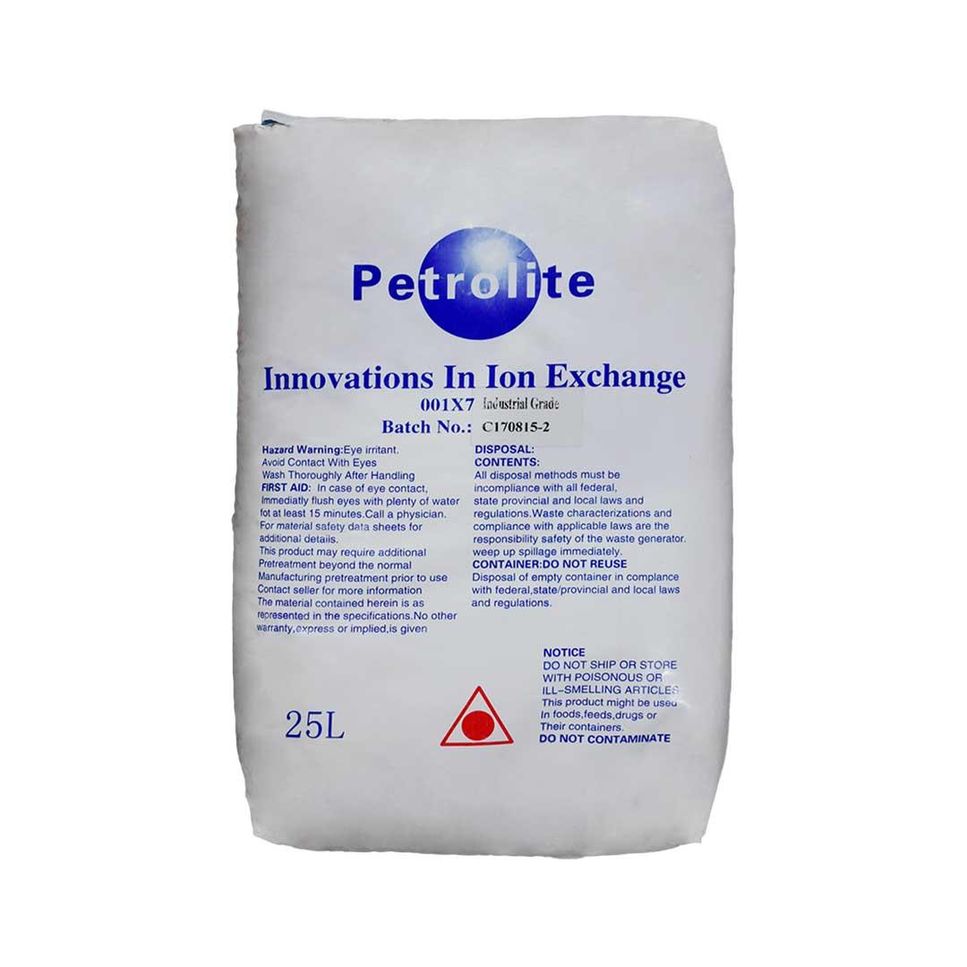 رزین کاتیونی پترولایت (Petrolite) مدل 001x7