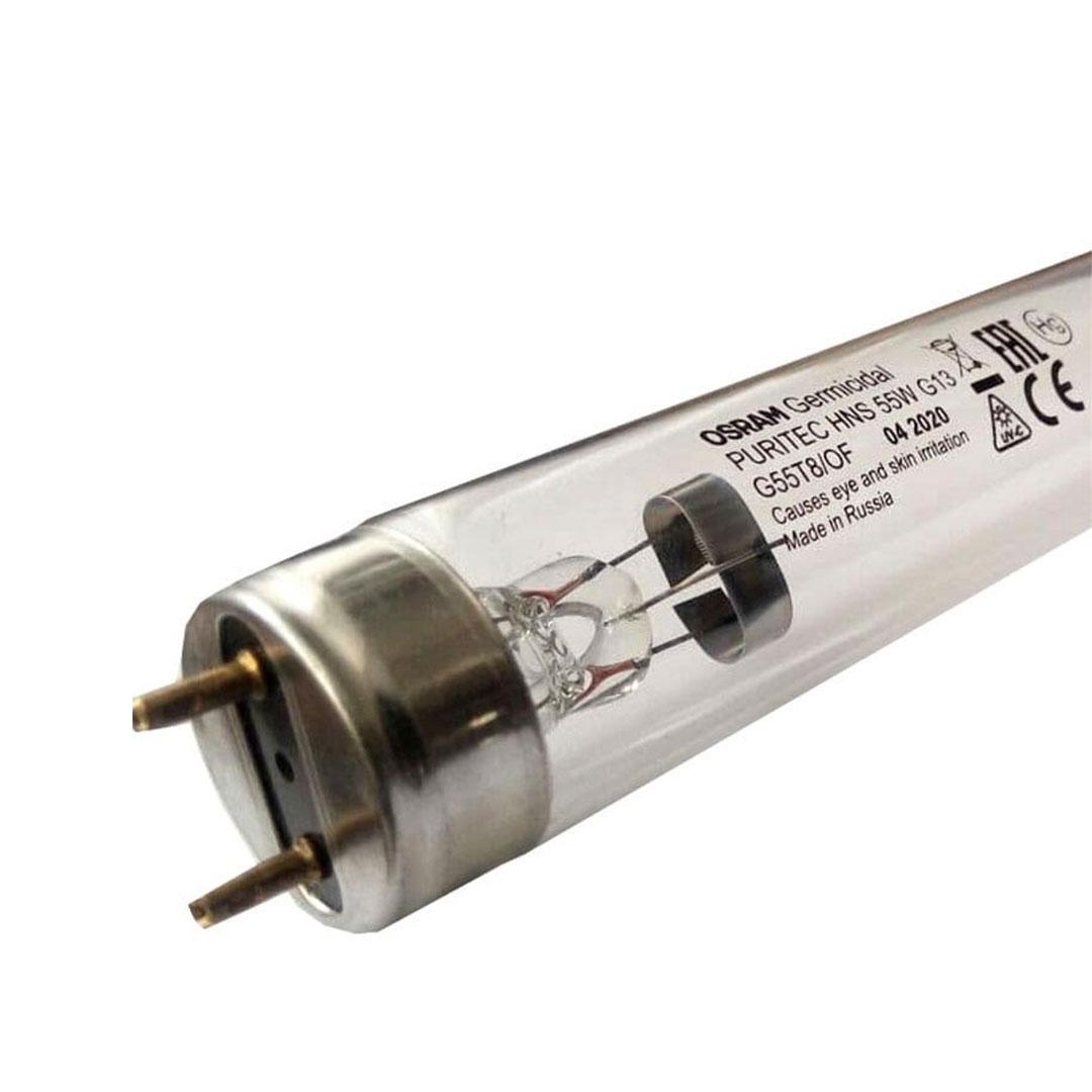 لامپ یو وی سی (UVC) اسرام (Osram) با توان 55 وات