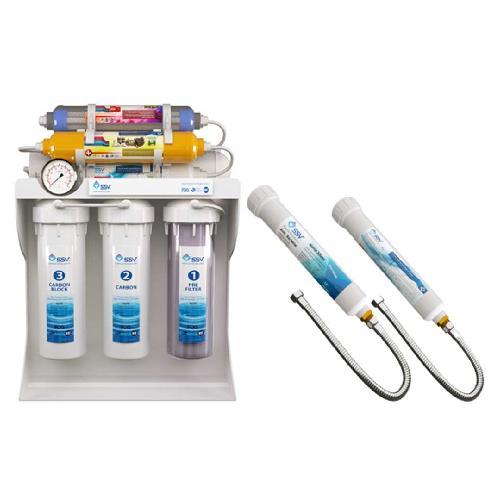 دستگاه تصفیه آب خانگی SSV مدل UltraPro X800 به همراه فیلتر حمام و سرویس