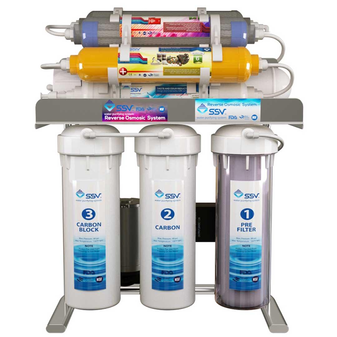 دستگاه تصفیه آب خانگی اس اس وی (SSV) مدل UltraClear X1000
