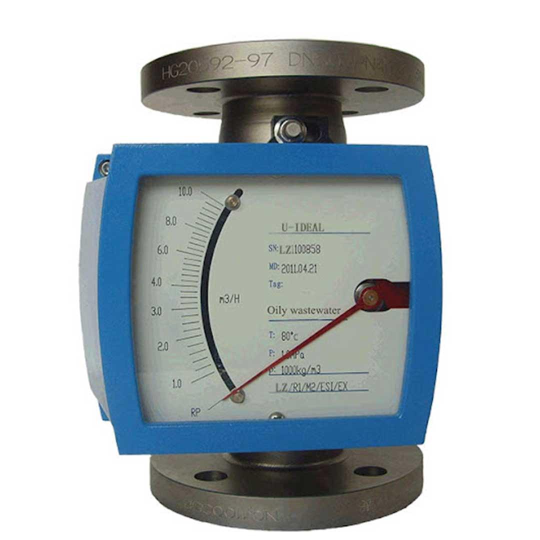 فلومتر فلوتک (Flowtech) مدل 10 تا 100 لیتر در ساعت
