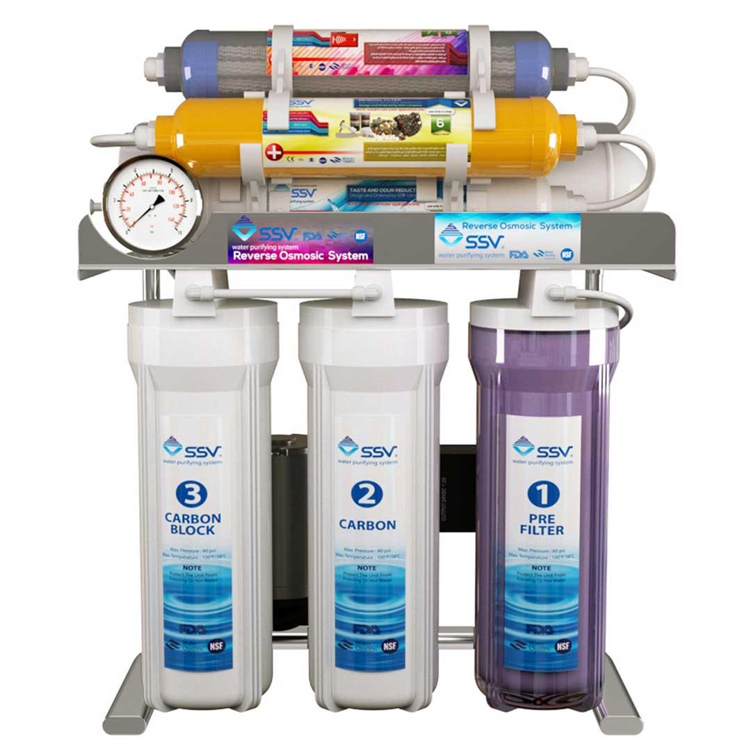 دستگاه تصفیه آب خانگی اس اس وی (SSV) مدل MaxSpring X910