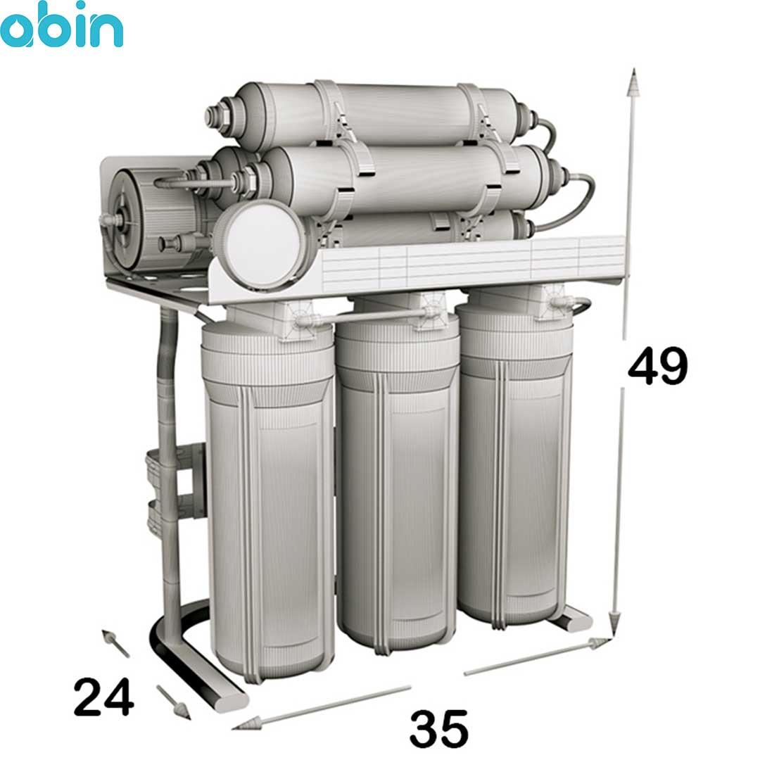 دستگاه تصفیه آب خانگی اس اس وی (SSV) مدل MaxSpring X800