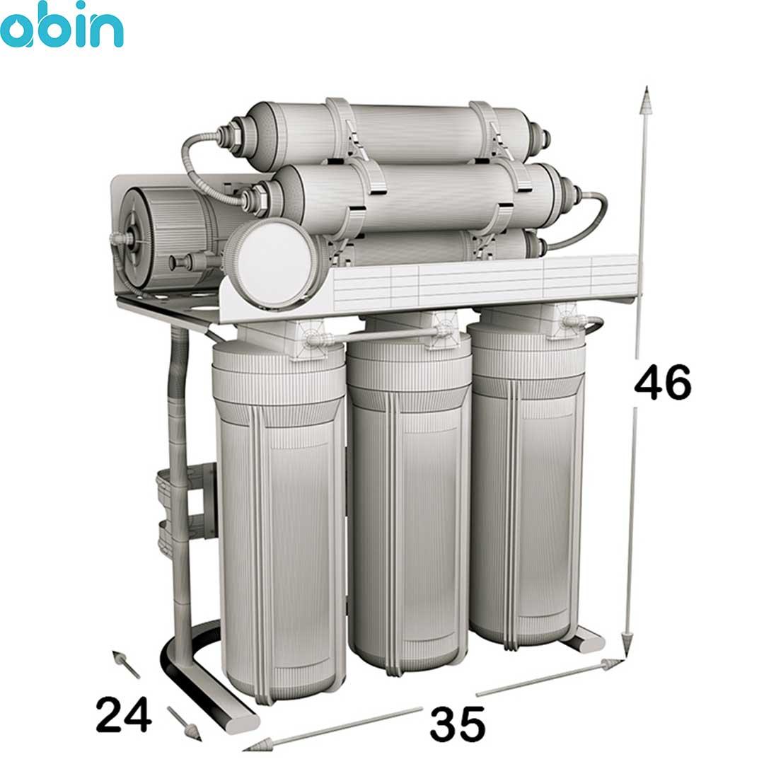 دستگاه تصفیه آب خانگی اس اس وی (SSV) مدل MaxSpring X700
