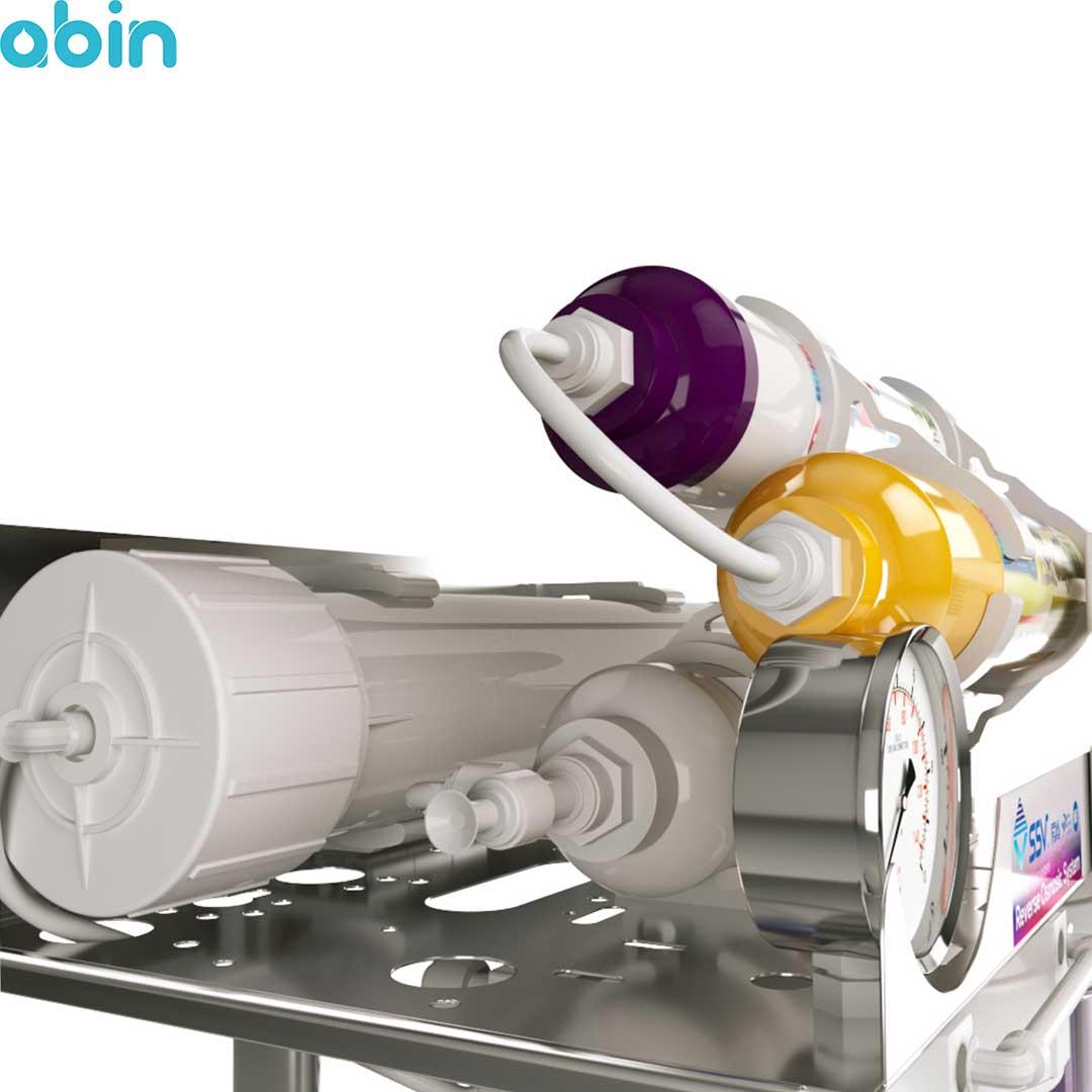 دستگاه تصفیه آب خانگی اس اس وی (SSV) مدل MaxSpring X630