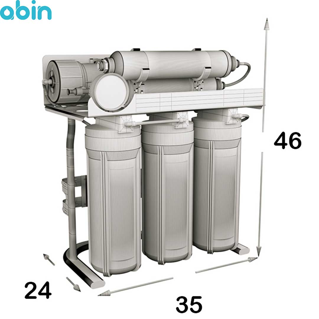 دستگاه تصفیه آب خانگی اس اس وی (SSV) مدل MaxSpring X720